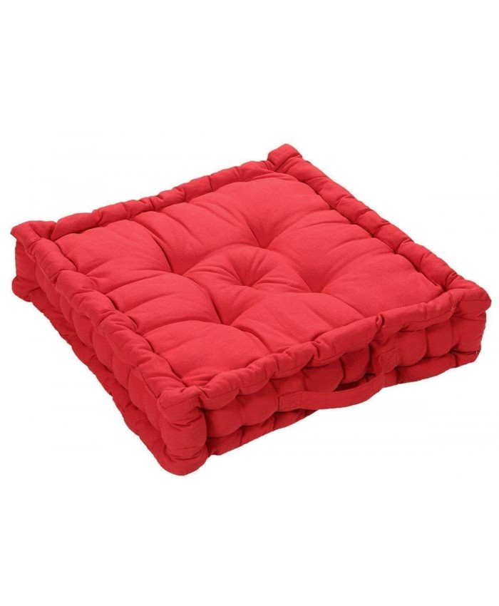Red Booster Seat Pad Cushion