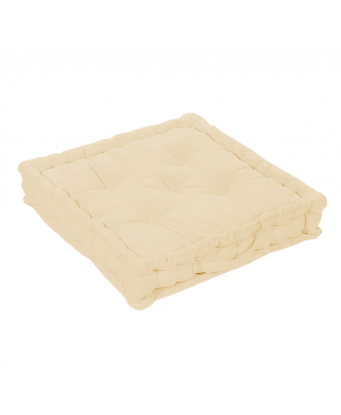 Beige Booster Seat Pad Cushion