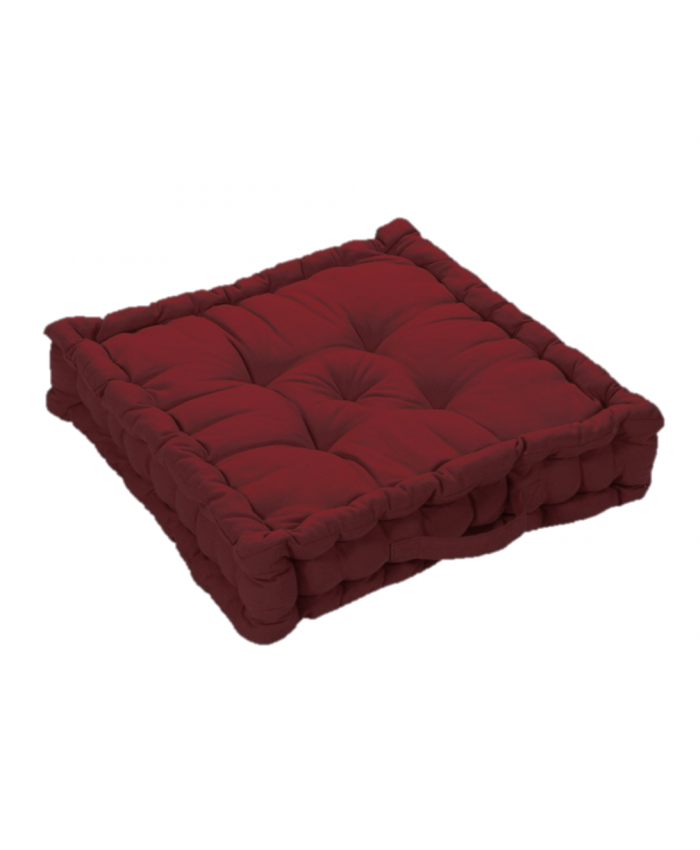 Maroon Booster Seat Pad Cushion