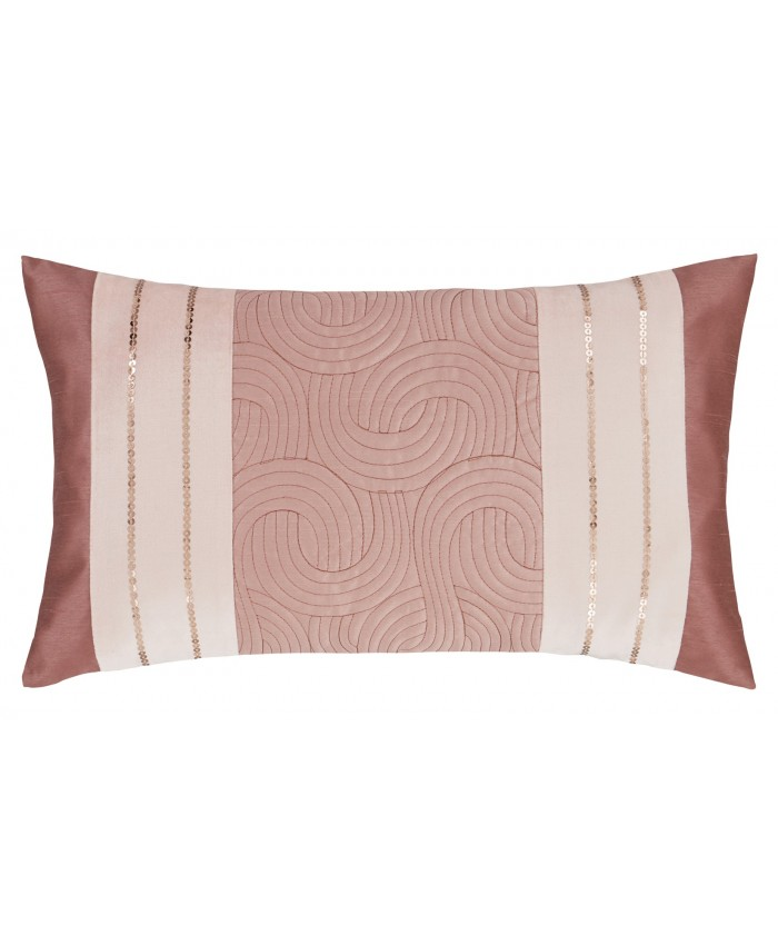 Gatsby Blush Pink Cushion Set | Catherine Lansfield