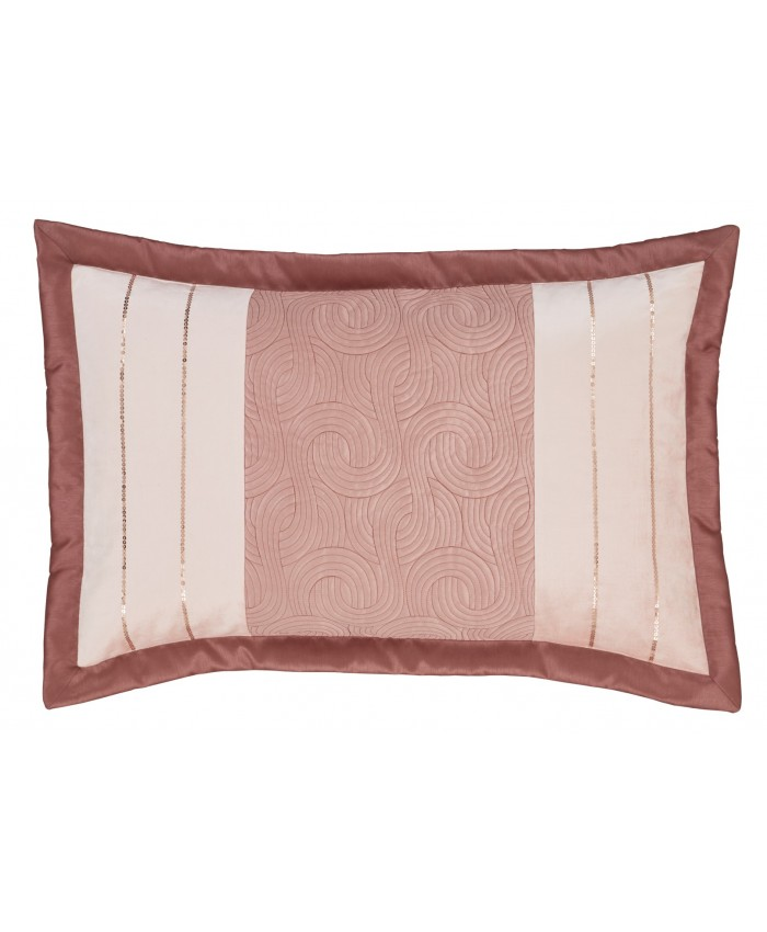 Gatsby Blush Pink Pillowshams | Catherine Lansfield