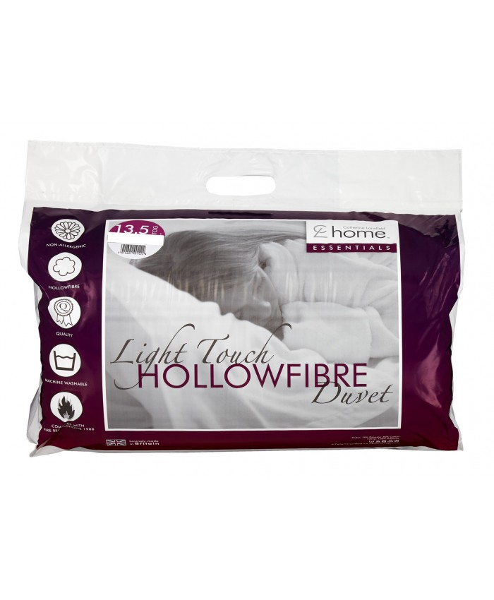 13.5 Tog Hollowfibre Light Touch Duvet Quilt | Catherine Lansfield