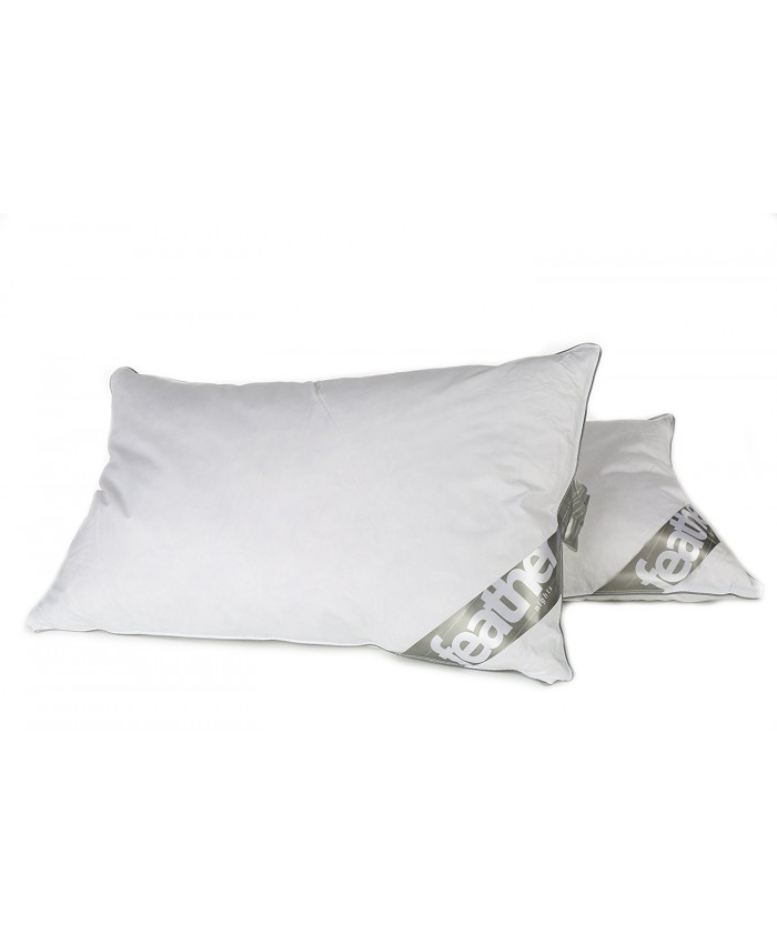 Duck Feather & Down Pillow Pair | 85% Feather & 15% Down