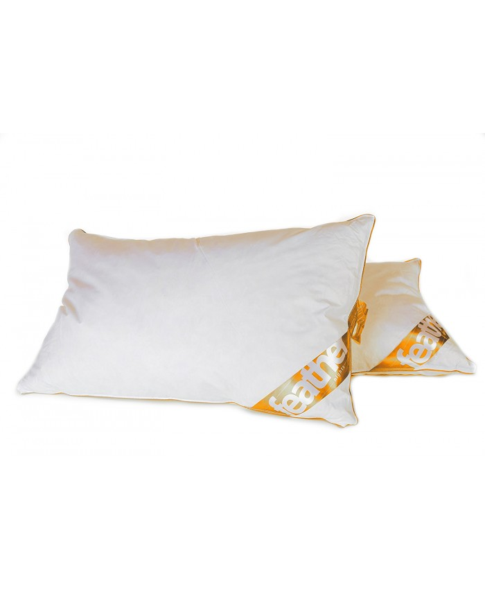 Goose Feather & Down Pillow Pair | 85% Feather & 15% Down