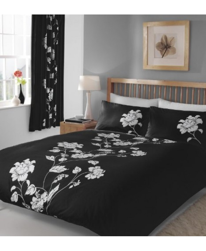 Chantilly Black Duvet Cover Set | Gaveno Cavailia