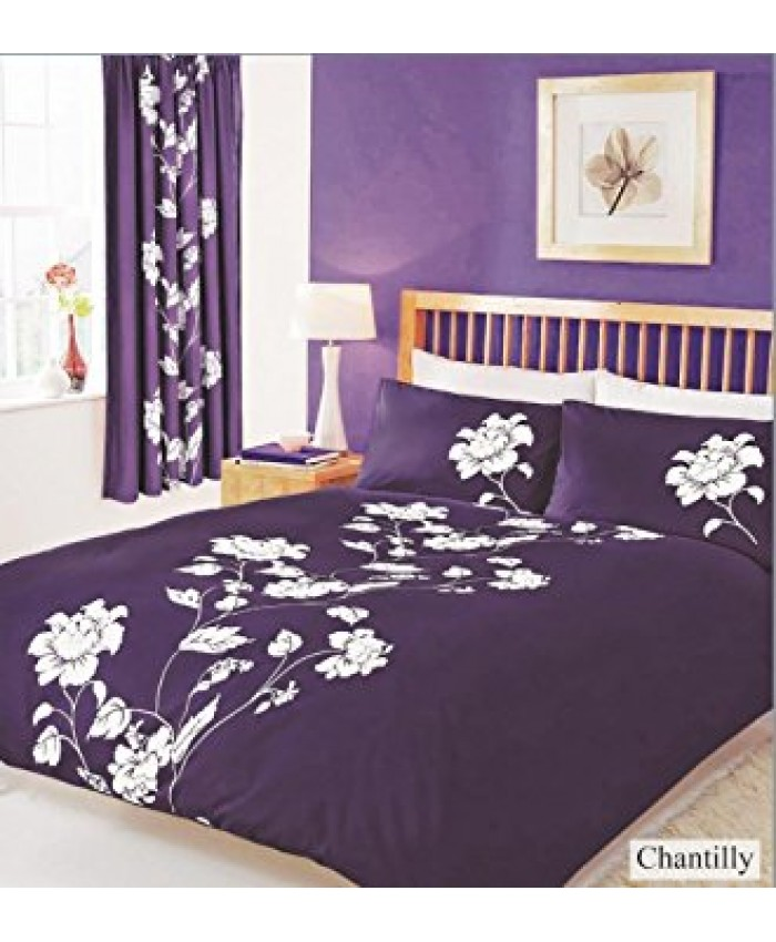 Chantilly Berry Purple Duvet Cover Set | Gaveno Cavailia