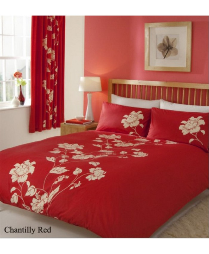 Chantilly Red Duvet Cover Set | Gaveno Cavailia