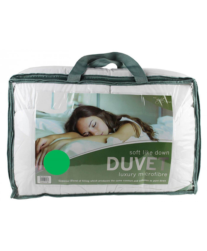 Luxury 13.5 Tog Soft Like Down Microfibre Duvet | The Nights Range
