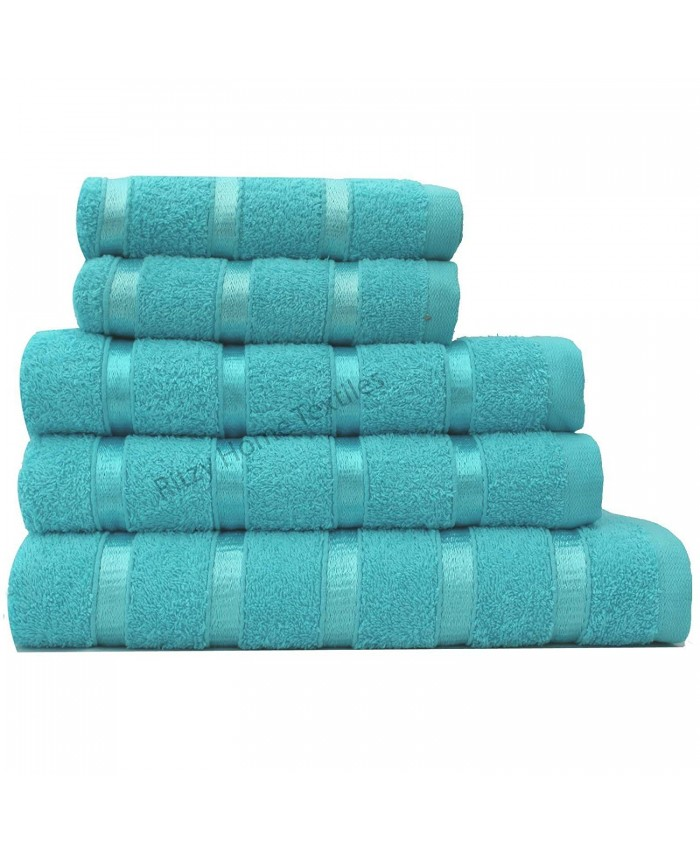 Aqua Egyptian Cotton 500GSM Towel Set