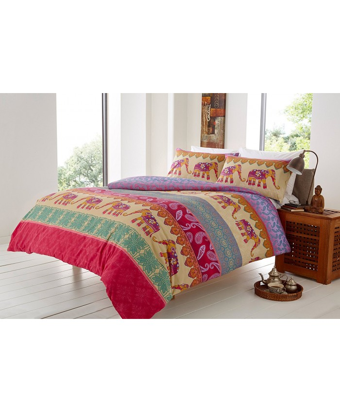 Elly Multicoloured Duvet Cover Set | Olivia Rocco