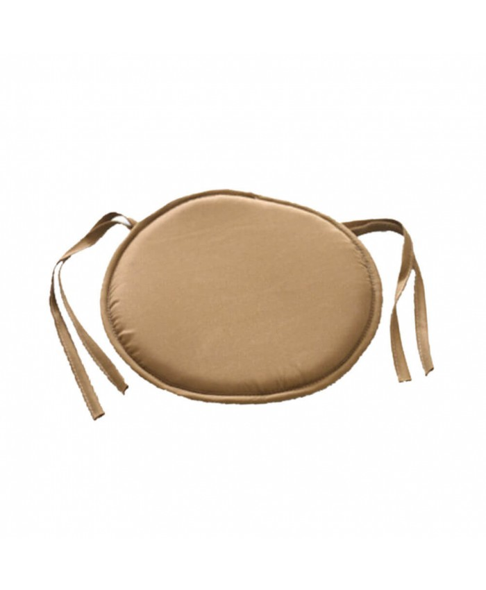 Beige Round Seat Pad | The Nights Range