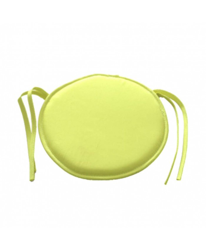 Lemon Round Seat Pad | The Nights Range