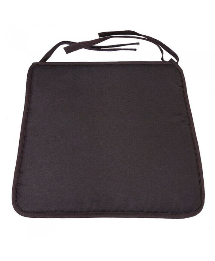 Black Sqaure Seat Pad Cushion